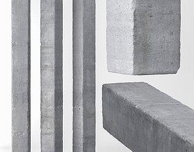 3D model Column concrete