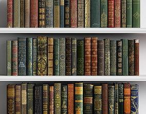 Classic Books 01 3D