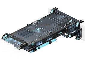 Space ship - bridge 02 3D