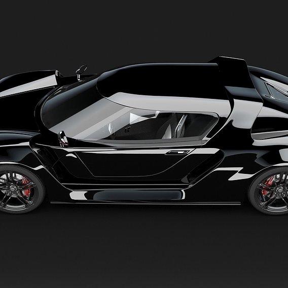 Creation of a supercar