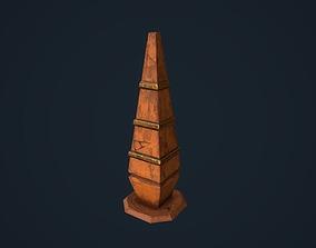 3D asset Obelisk 3