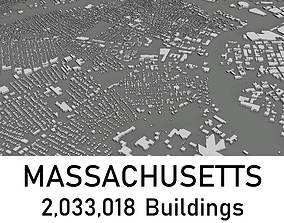 game-ready Massachusetts - 2033018 3D Buidlings