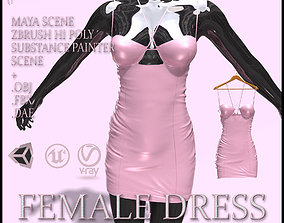 3D model Female Dress