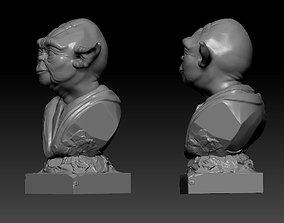 3d model Master Yoda master