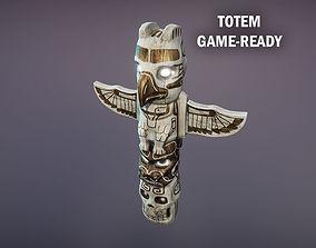 3D asset Totem
