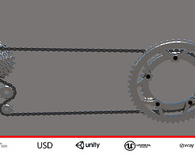 Bicycle Chain and Cassette realtime