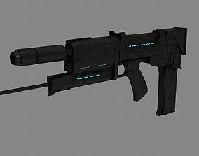 Plasma Rifle T-800 terminator 3D