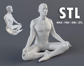 Man 1 STL 3D print model