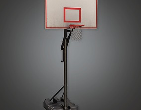 3D model Basketball Hoop 01a - Sports and Gym