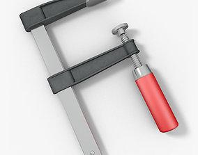 3D model F-Clamp
