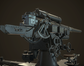 German Flak Gun 88mm 3D asset