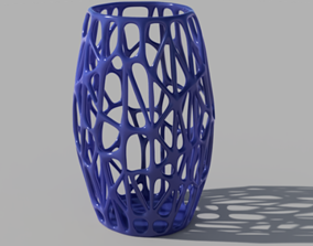 3D printable model Open cell vase