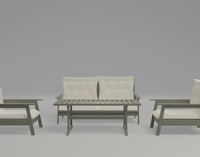 lounge Outdoor furniture 3D