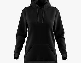 3D hoodie female