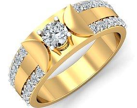 Women cocktail ring 3dm stl render detail engagement-ring