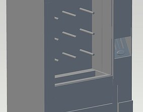 3D printable model Vending machine futuristic