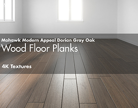 3D model Mohawk Modern Appeal Dorian Gray Hardwood Wood 2