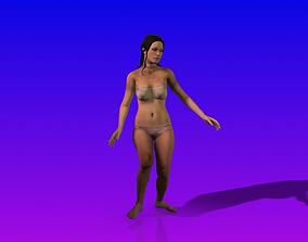 Sexy Woman Dance 3D
