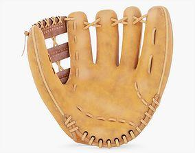 Baseball Glove 3D model PBR