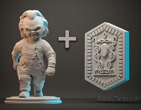 sculpt CHUCKY 3d printable