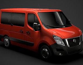 3D Nissan NV 400 L1H1 WindowVan 2020