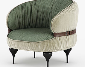 3D Chubby Chic Chair