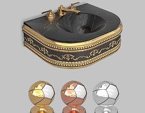 3D model Classic Wash Basin 2