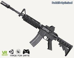 M4 A1 Assualt Rifle 3D model
