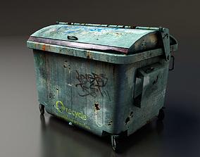 Garbage Dumpster 3D asset