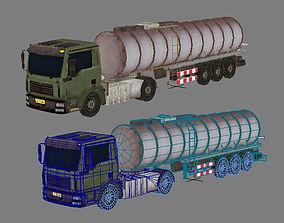 oil tank lorry 3D model