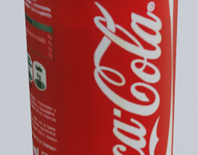 3D model Coke Can other