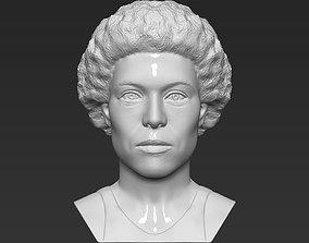 Ellen Ripley bust 3D printing ready stl obj
