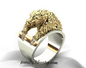 Ring Bear 3D print model