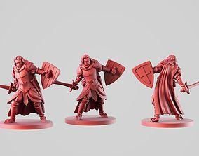 3D print model the warrior