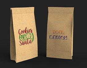 3D Paper Bag package