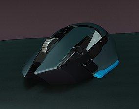 computer mouse connection 3D