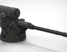 turret 2 heavymachinegun 3D model