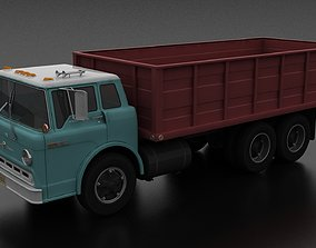 C-Series C-800 Grain Truck Tandem Axle 1970 3D asset