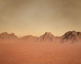 Martian Terrain 3D model