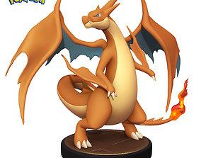 Pokemon Charizard Y - 3D Printable Figure -