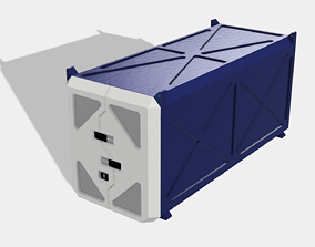 Shipping Container A 3D print model