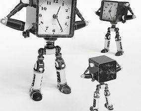 Robot Clock 3D