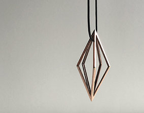 3D print model Diamond Pendant 1