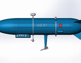 Dirigible-artillery 3D printable model