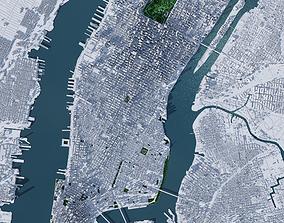 3D model New York City MANHATTAN