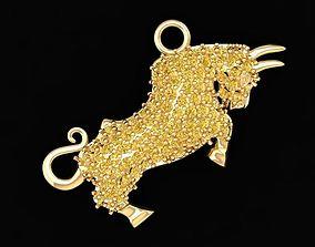 3D print model 566 Lucky Gaur Pendant