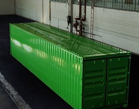 3D model 40FT ISO Shipping Container