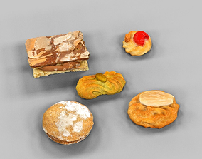 3D model VR / AR ready Cookie Collection 2
