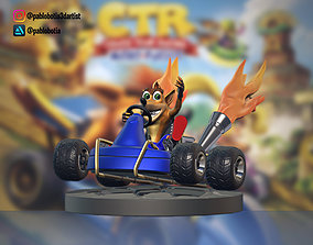 Crash team nitro fueled 3D print model