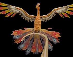 3D asset animated Firebird